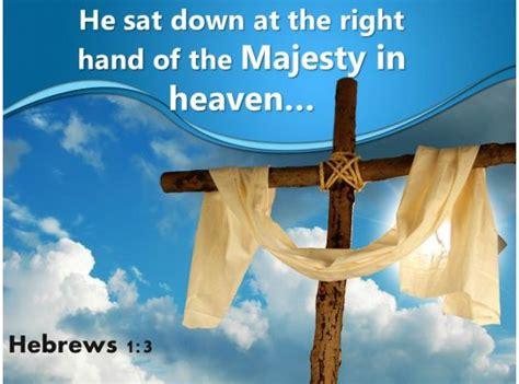 hebrews  majesty  heaven powerpoint church sermon templates powerpoint