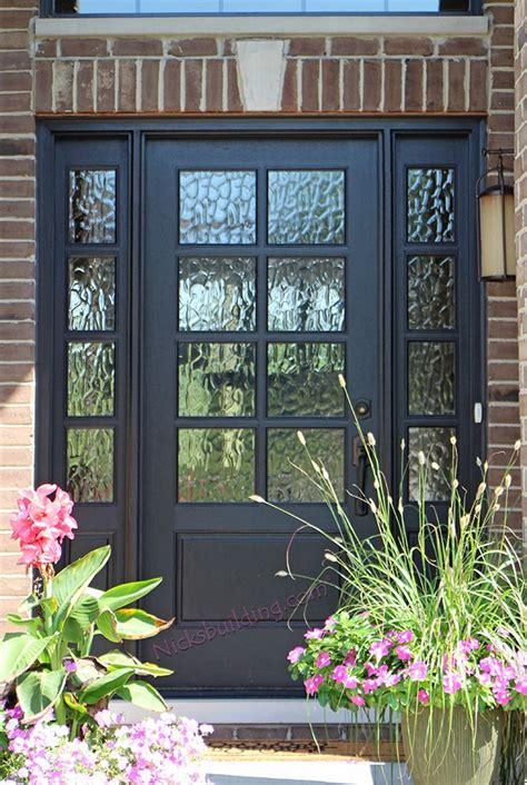 glass front garage doors 8 lite front door with flemish glass exterior home in