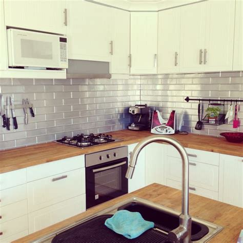modern kitchen splashback brick pressedtinpanels splashback in this modern