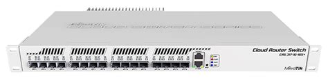 Router Mikrotik 16 Port Mikrotik Cloud Router Switch Crs317 1g 16s Rm Is An 16 Port Sfp Switch With One Gigabit