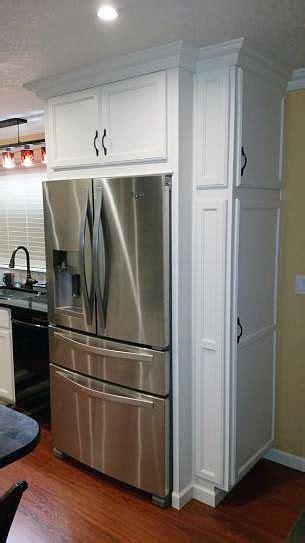 refrigerator cabinet home depot whirlpool 24 5 cu ft door refrigerator in