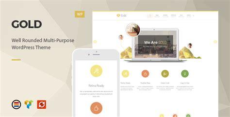 gold themes wordpress gold responsive business wordpress theme by europadns