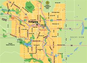 map of calgary johomaps
