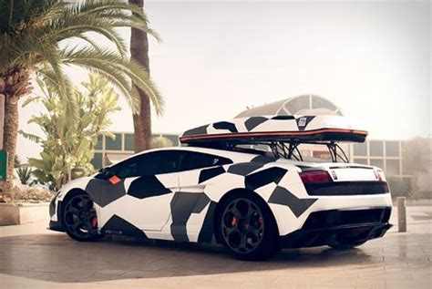 Lamborghini Ski Rack Roof Rack Ride Roof Rack