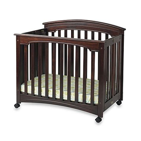 Mini Cribs For Sale Child Craft Wadsworth Folding Mini Crib In Cherry Buybuy Baby