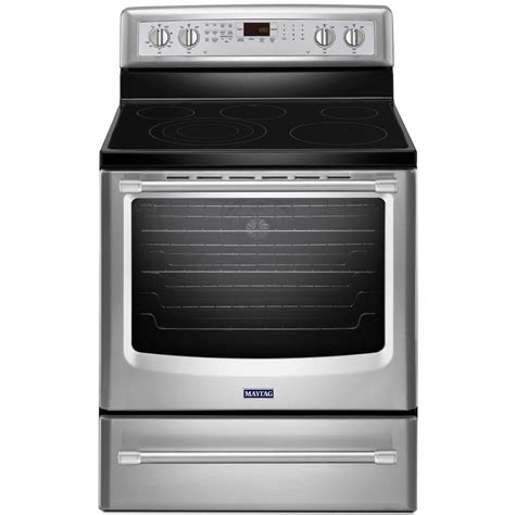 Maytag AquaLift 6.2 cu. ft. Electric Range with Self Cleaning Convection Oven in Stainless Steel