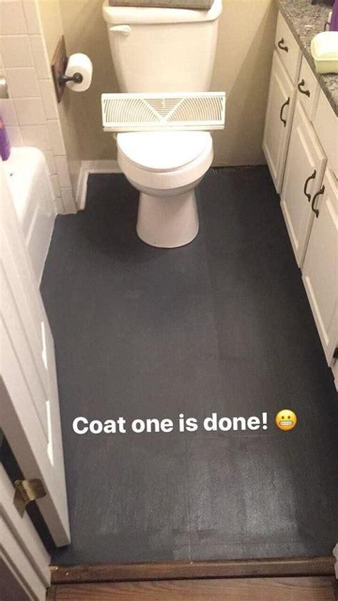 how to get paint of linoleum floor so i painted our linoleum hometalk