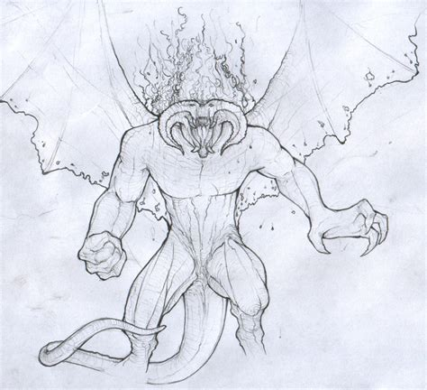 doodle drawings how to how to draw balrog