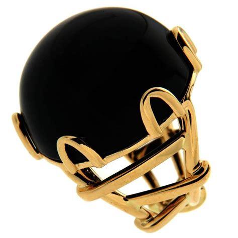 black jade ring trellis black jade ring in gold for sale at 1stdibs