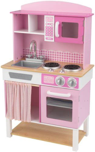 Pink Play Kitchen by Kidkraft Home Cookin Pink Play Kitchen