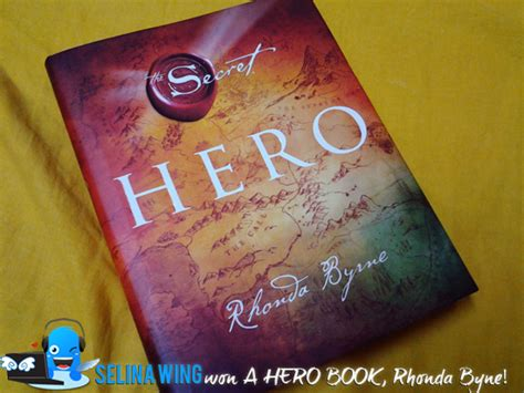 hero secret rhonda byrne i won a hero book by rhonda byrne author of the secret from popular malaysia selina wing