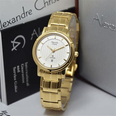 Jam Tangan Alexandre Chistie Ac 6349 Silver White jam alexandre christie ac8389 silver white sapphire