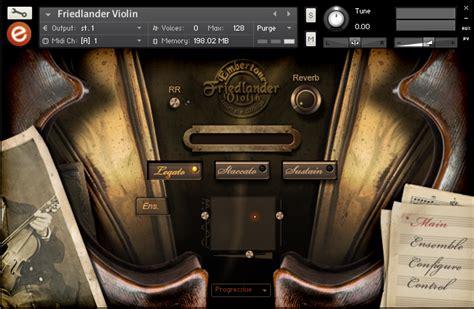 kontakt 5 full version price kvr friedlander violin by embertone solo violin vst