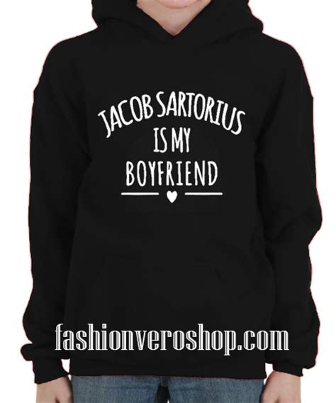 Sweater Jacob Sartorius Is My Boy Friend Rockzillastore jacob sartorius is my boyfriend hoodie black