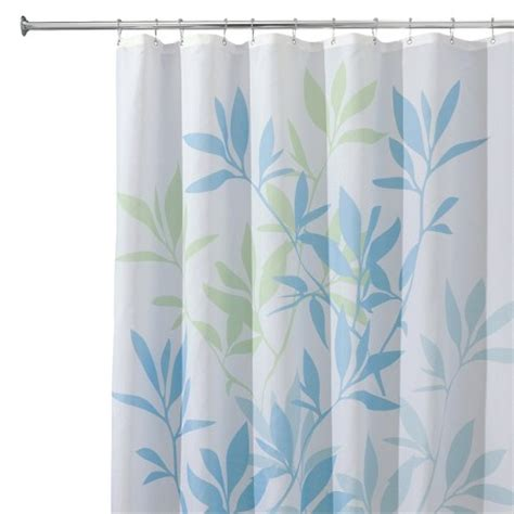 Target Bathroom Shower Curtains Interdesign Leaves Shower Curtain Target
