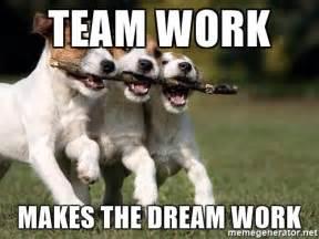 Teamwork Makes The Dreamwork Meme - memes for team animal meme www memesbot com