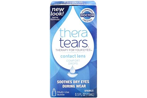reviews for thera tears contact lens comfort drops 5 oz