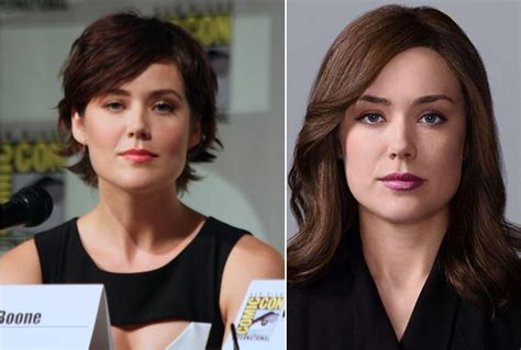 does megan boone wear a wig the blacklist should the wig be credited tv com