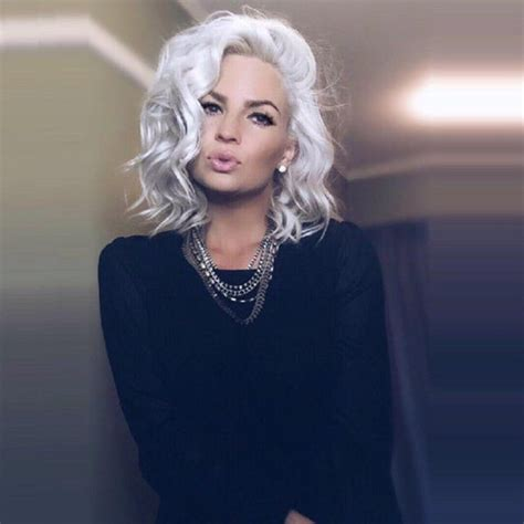 Toner Glowing Platinum 540 best images about silver white platinum hair on