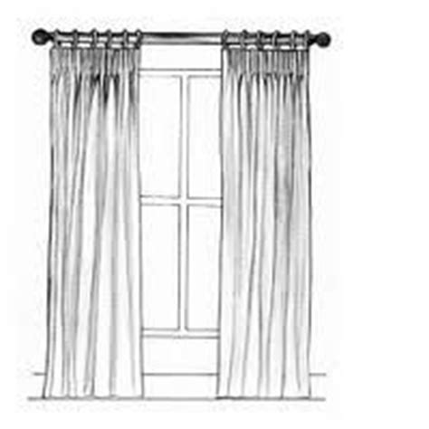pinch pleat draw drapes flowing curtains on pinterest window treatments