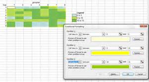 advanced graphs using excel heat map plot in excel using