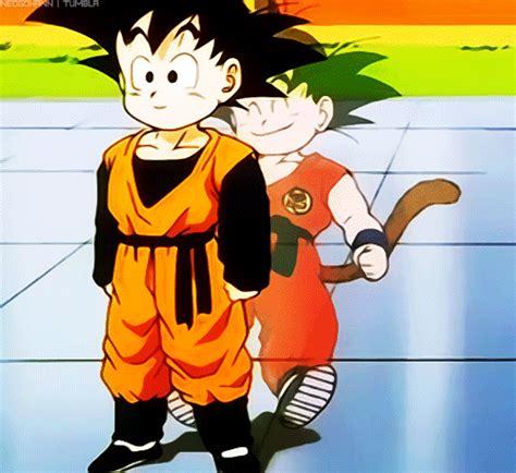 imagenes de goku umano porque goten es mas fuerte que trunks manga y anime