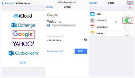 sync mobile contacts with gmail how to sync contacts with icloud easily imobie