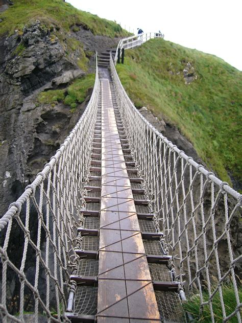 swinging sites ireland carrick a rede rope bridge