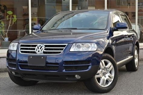 volkswagen touareg used for sale volkswagen touareg v6 4wd 2004 used for sale