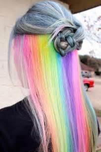 hair and 25 best ideas about hidden rainbow hair on pinterest