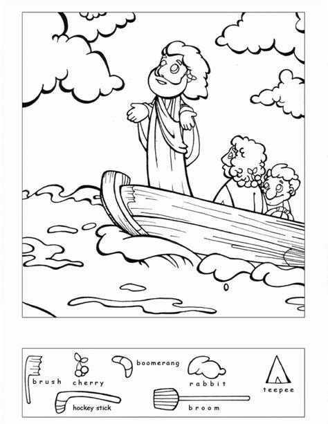 free coloring page jesus calms the storm jesus calms the storm coloring pages coloring home