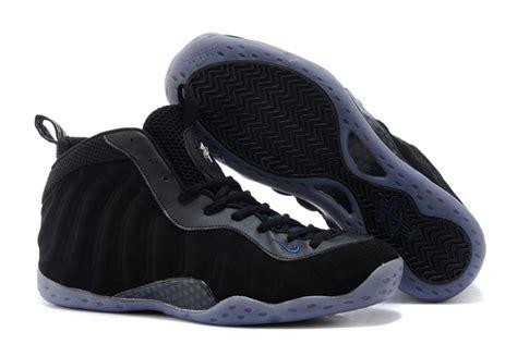 buy cheap nike air foosite one black suede basketball