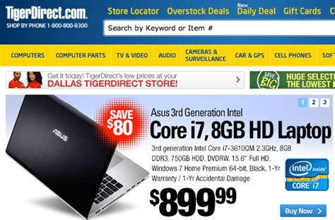 the best websites for buying computer parts online - Tigerdirect Gift Card Not Working