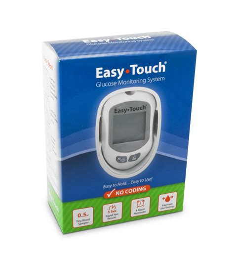 Easy Touch Strips Blood Glucose easytouch test strips glucose test strips
