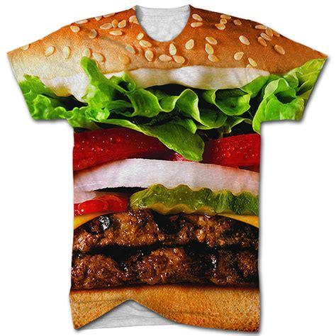 Burger Tshirt burger all print t shirt