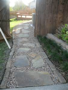 flagstone walkway captain ron s lawns landscaping inc