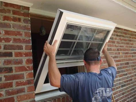 how to install new windows in a house how to install vinyl replacement windows