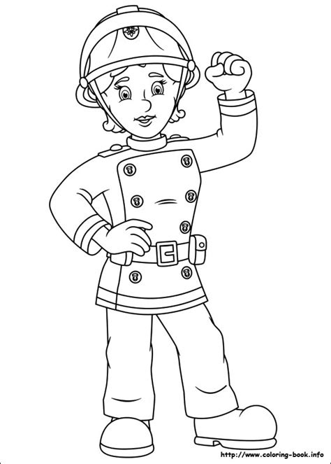 Free Coloring Pages Of Fireman Sam Fire Engine Fireman Sam Colouring Pages To Print