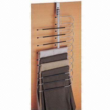 Closet Organizing Trouser Rack by Innovative Product Utilize Your Closet Space To The Max With The Door Trousers Rack Http