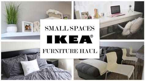 furnishing small spaces ikea ideas for small spaces furniture haul