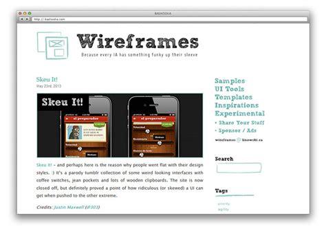 wireframes magazine 187 wireframe 20 useful ui design resources web graphic design