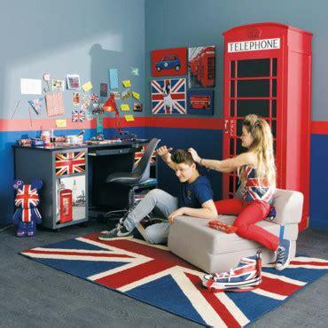 chambre th鑪e londres chambre d ado coussin tapis et le style pour