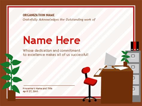 administrative assistant card template 9 best images of business professional certificate