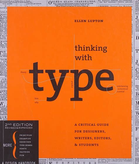design typography etc a handbook books thinking with type a critical guide for designers