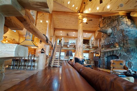 log cabins inside view gallery woodworking bg