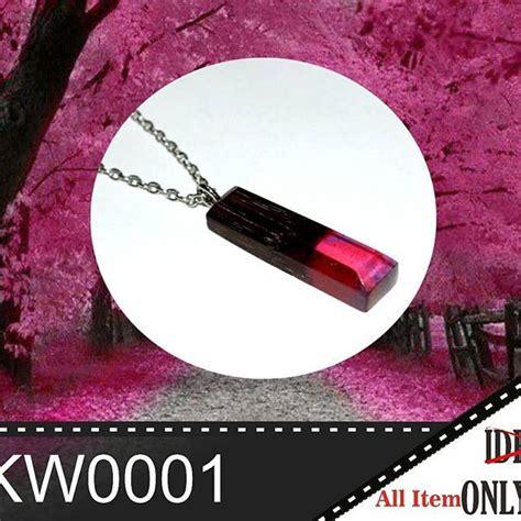 Kalung Tali Kayu Bulat Resin kw0001 kalung kayu resin kayu rosewood hardwood resin