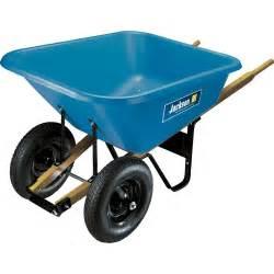 home depot wheelbarrow jackson 8 cu ft poly wheelbarrow bp8j the home depot