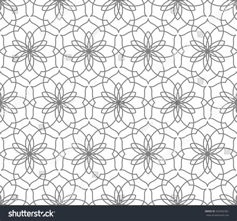 abstract arabic pattern arabic seamless vector pattern abstract ornament stock