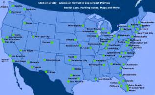 airports in map maps