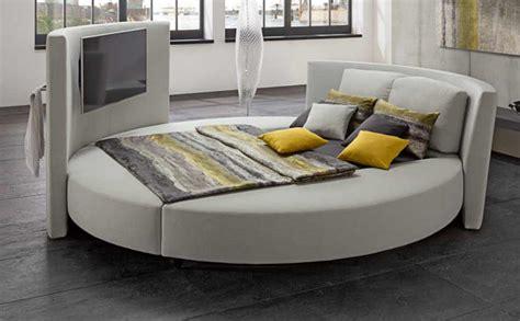 bett rund cinemaro luxurious bed ruf betten wood